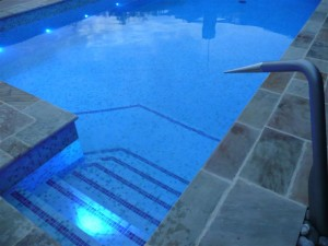 Insulated Pool Steps